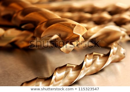 Drill Bits for Metal Set close up. Stock photo © cookelma