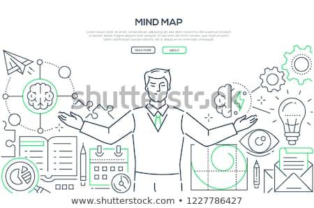 empresário · tempo · tempo · é · dinheiro · negócio · homem · trabalhar - foto stock © decorwithme