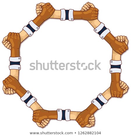 Hands in a circle and strength through team spirit Stock photo © Ustofre9