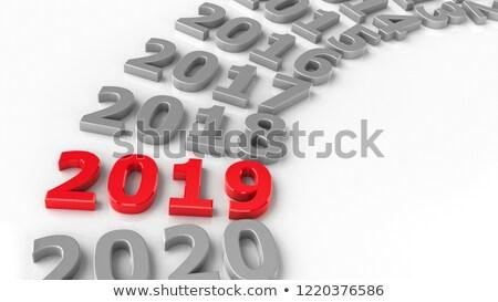 2019 past circle stock photo © Oakozhan