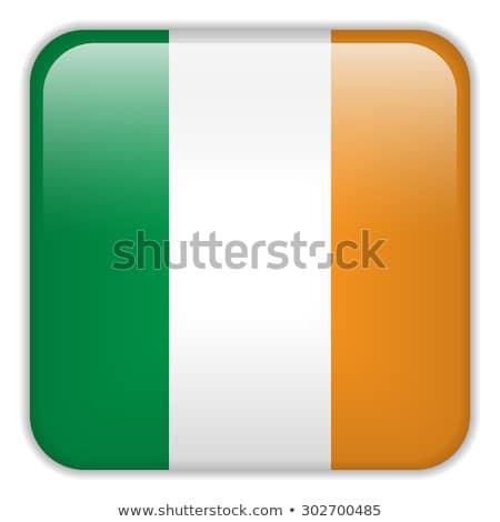 Ireland flag on square frame Stock photo © colematt