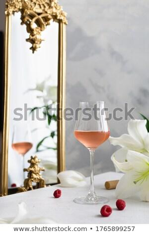 Wedding bouquet of roses on the mirror table  Stock photo © ruslanshramko