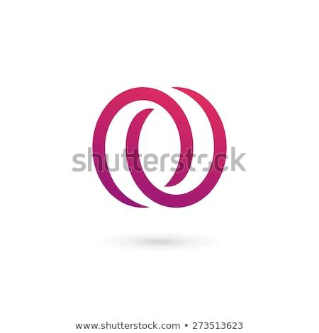 letter o zero 0 number vector logo icon symbol element Stock photo © blaskorizov
