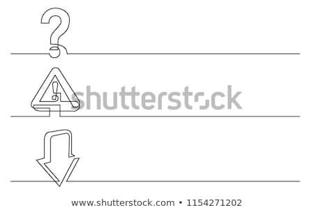 Draw attention concept banner header. Stock photo © RAStudio