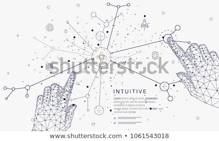 ingesteld · eenvoudige · apart · abstract · vector · titel - stockfoto © netkov1