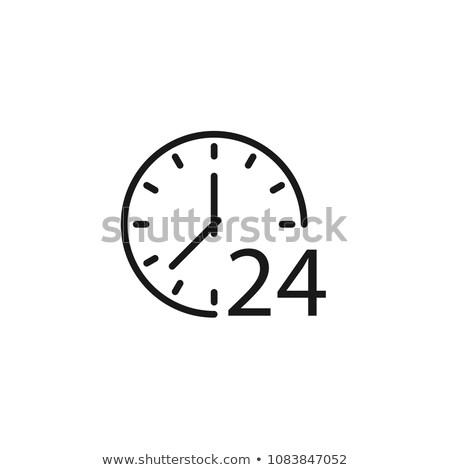 átjáró · idő · vonal · ikon · skicc · stílus - stock fotó © kyryloff