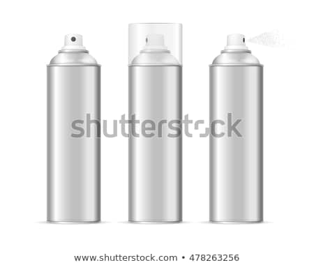 vector set of spray can and bottle Stock photo © olllikeballoon