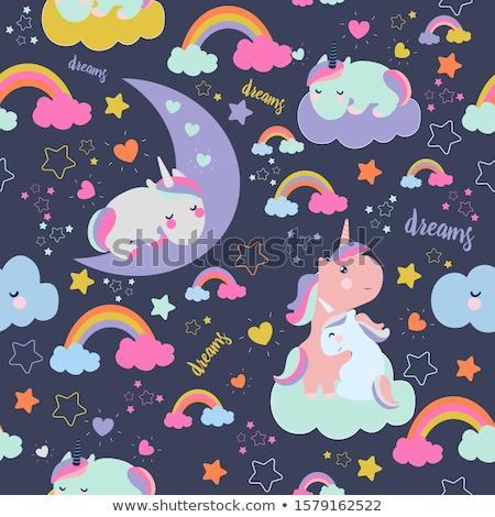 Stock photo: vector cartoon seamless pattern