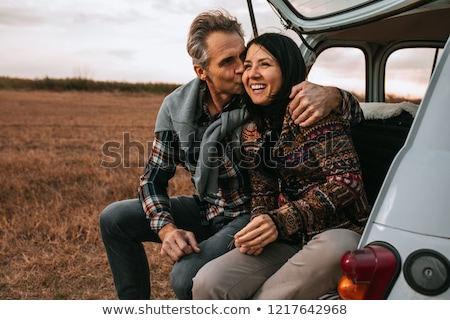 Couple enjoying the Wilderness Stock photo © wildnerdpix
