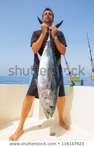 рыбак · большой · рыбы · стержень - Сток-фото © jossdiim