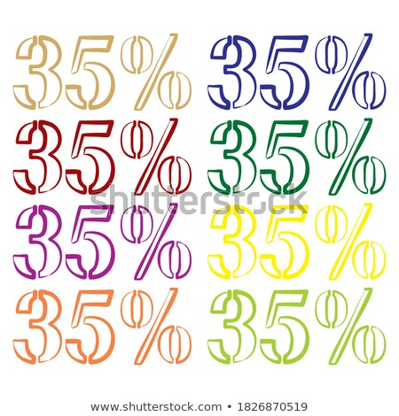 Super Price Thirty Five Percent Reduction Off Stock photo © robuart