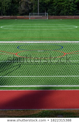 herbe · artificielle · image · texture · football · construction - photo stock © feverpitch
