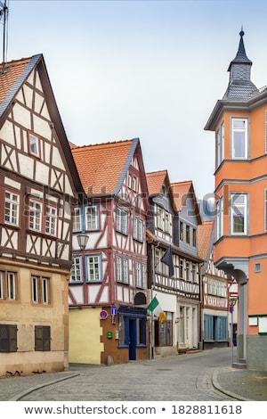 улице Германия исторический дома город стены Сток-фото © borisb17