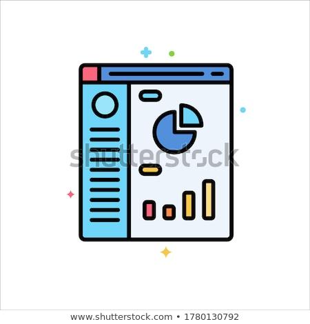 Komputera kodowanie kółko ikona długo cień Zdjęcia stock © Anna_leni