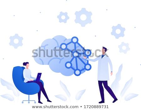 Comportement psychologie émotionnel médicaux Photo stock © Lightsource