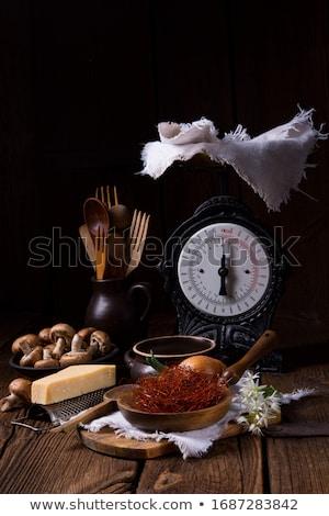 Chili strings are a fine decorative spice Stock photo © Dar1930