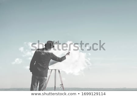 Dreamy painter Stock photo © Anna_Om