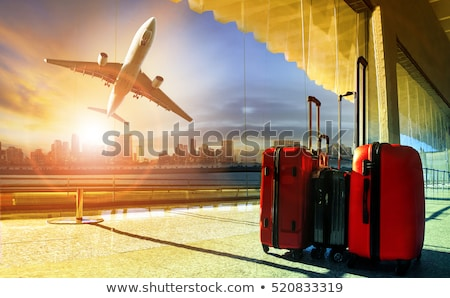 Forgotten luggage Stock photo © Stocksnapper