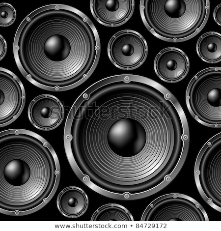 Speakers seamless background. Stock photo © Leonardi