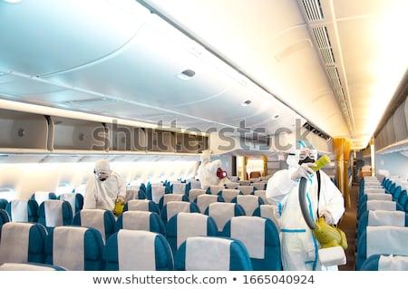 Companhia aérea doença coronavírus viajar risco vírus Foto stock © Lightsource