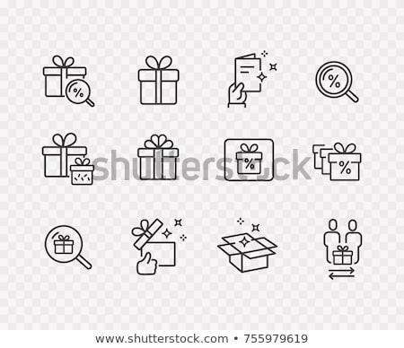 prêmio · evento · ícones · ilustração · aniversário · rede - foto stock © get4net