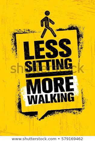 больше активный меньше веса здорового доске Сток-фото © Ansonstock