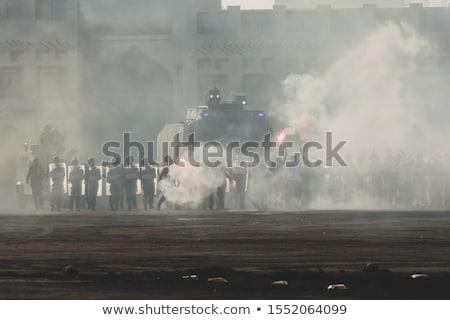 Gwałtowny protestu zamieszek cywilny społecznej Zdjęcia stock © Lightsource