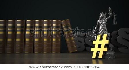 Yasal pazarlama 3d illustration Internet ağ web Stok fotoğraf © limbi007