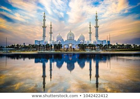 Sheikh Zayed mosque Stock photo © HypnoCreative