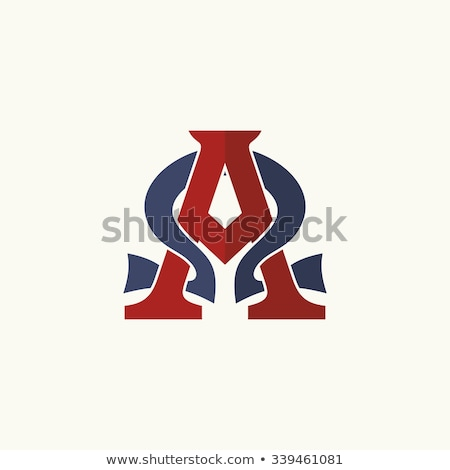 lettre · alpha · alphabétique · fil · effet · ligne - photo stock © jordygraph