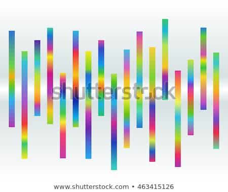 Imbalance and rainbow Stock photo © Elenarts