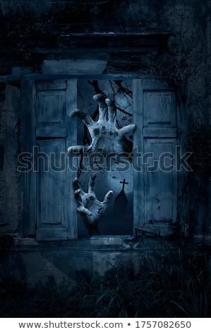 spooky church Stock photo © ancello