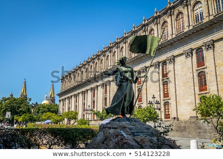 cattedrale · Messico · storico · centro · acqua · chiesa - foto d'archivio © elenaphoto