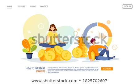 man with the dollar  Stock photo © RuslanOmega