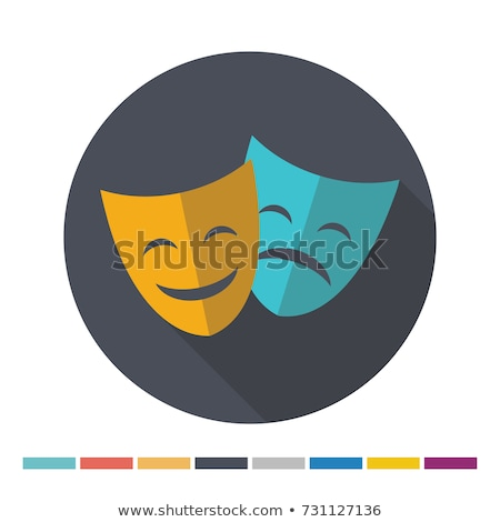 Stock photo: Comedy and Tragedy Theater Masks