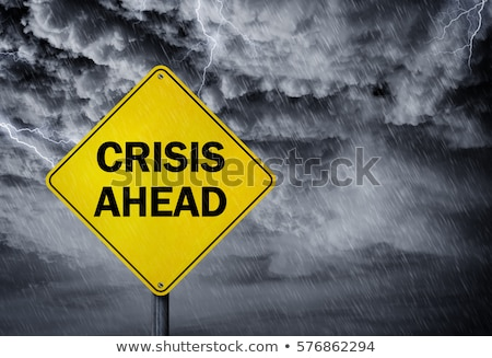 Crisis ahead Stock photo © leeser