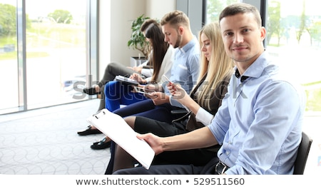 Fearful young worker Stock photo © photography33