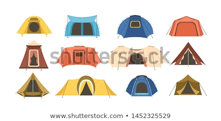 Various tents on a campsite. Stock photo © pixelmemoirs