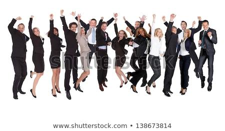 意気揚々 ビジネスチーム ビジネス 男 技術 グループ ストックフォト © photography33