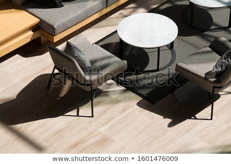 Contemporary sofa seating area  stock photo © 3523studio