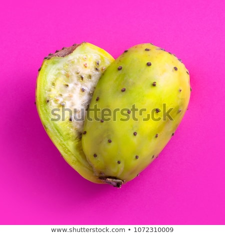 Heart shaped prickly pear cactus  Stock photo © frank11