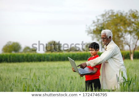 Father of India Stock photo © vectomart