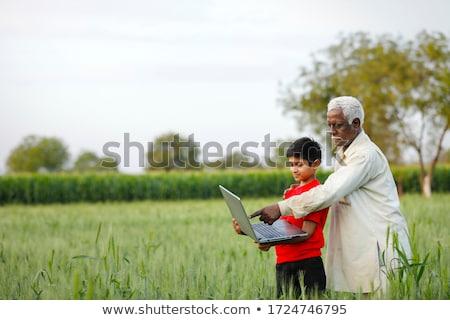 cultura · India · ilustración · bailarín · diverso - foto stock © vectomart