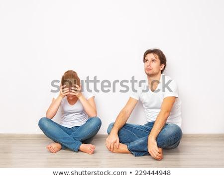 夫婦の 戻る 小さな 戦う 女性 暴力 ストックフォト © photography33