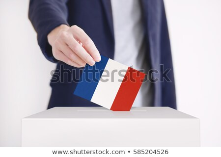 vote poll ballot box for france / french elections Stock photo © experimental