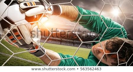 goalkeeper gate Stock photo © ssuaphoto