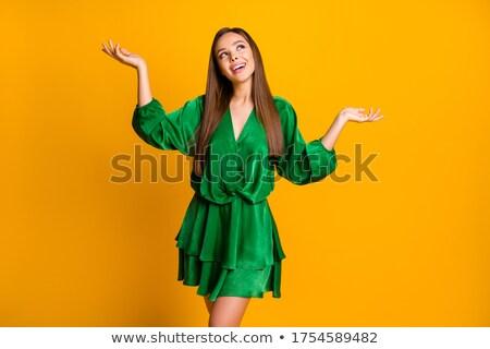 hosszú · lábak · szexi · afroamerikai · nő · rövid · ruha · hosszú - stock fotó © pawelsierakowski