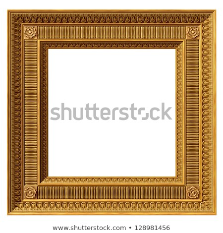 Square neoclassical frame Stock photo © paulfleet