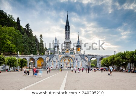 Tower of Lourdes Church Stock photo © jkraft5