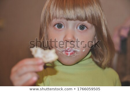 Toddler Girls Glazed Look Stock photo © ozgur